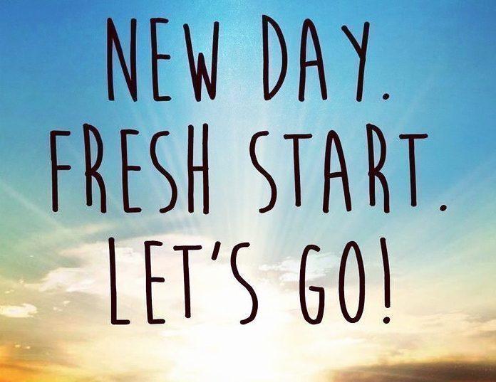 Motivation Monday Fresh Starts Grit Daily News