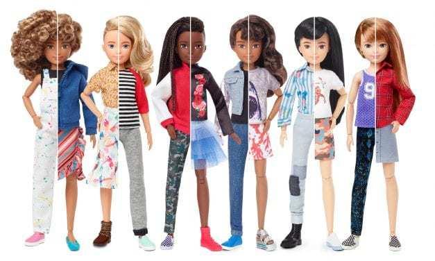 Mattel Launches Gender-Neutral 'Creatable World' Doll Line
