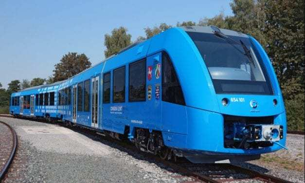 Germany Has A New Train Powered By Hydrogen