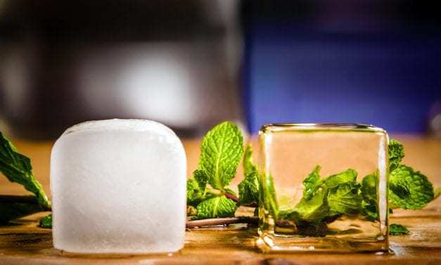 Ice Made Clear solves that pesky problem of cloudy ice in your drink