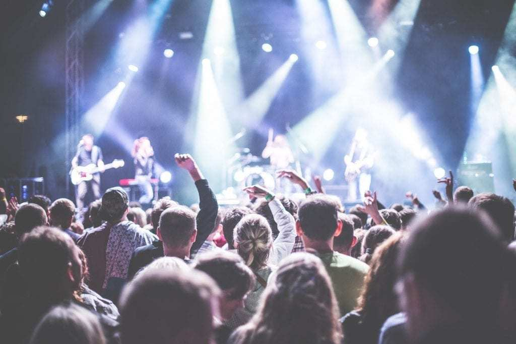 facial recognition at music festivals