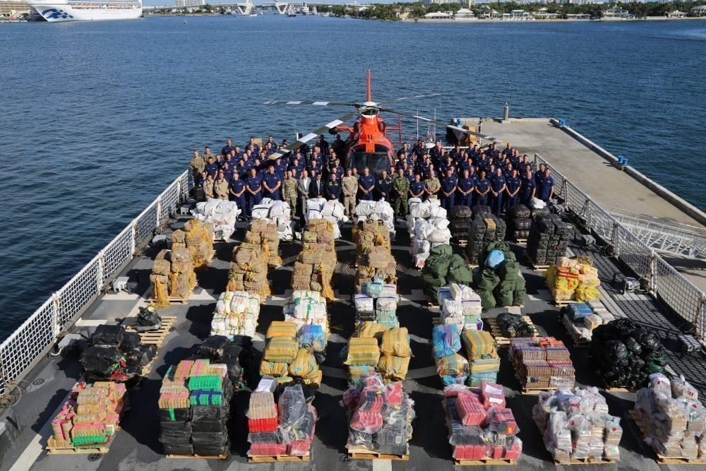 Meanwhile In Florida: U.S. Coast Guard Grabs 40,000 Pounds of Cocaine and Weed In $377M Drug Bust