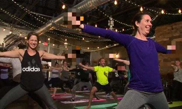 Are You An Angry Millennial? There's a Yoga Class For You to Scream, Drink, Rage, and Curse!