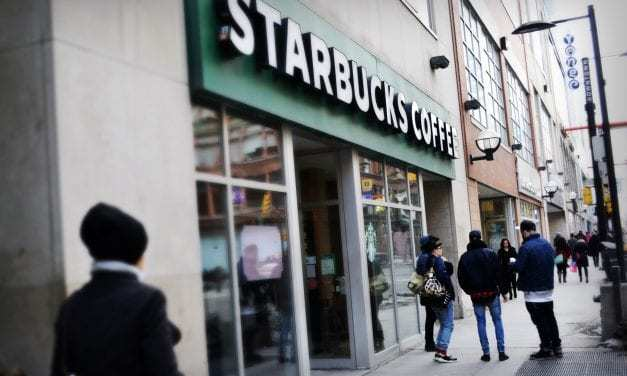 A customer is suing Starbucks for $10,000