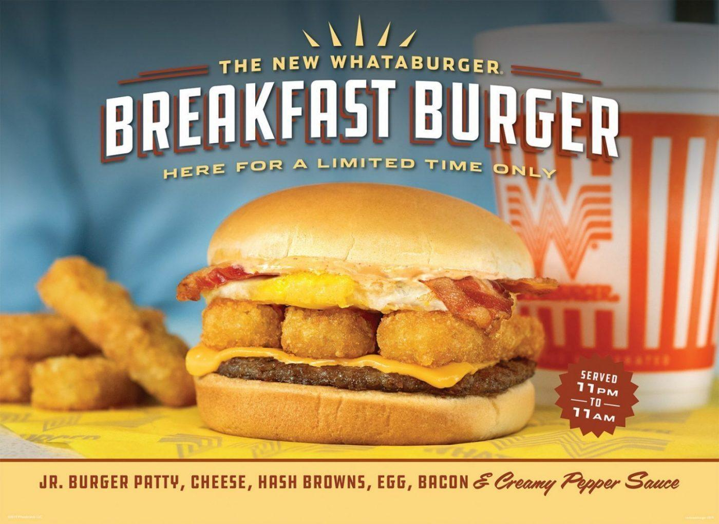 Whataburger Burgers They Re What S For Breakfast Grit Daily News
