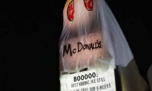 For Halloween, This Burger King Dressed Up as McDonalds—and it's Hauntingly Beautiful