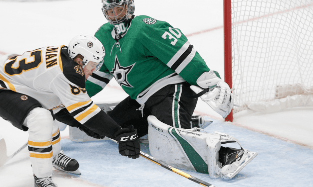 Injuries Amass As the Stars Drop the Season Opener To the Bruins