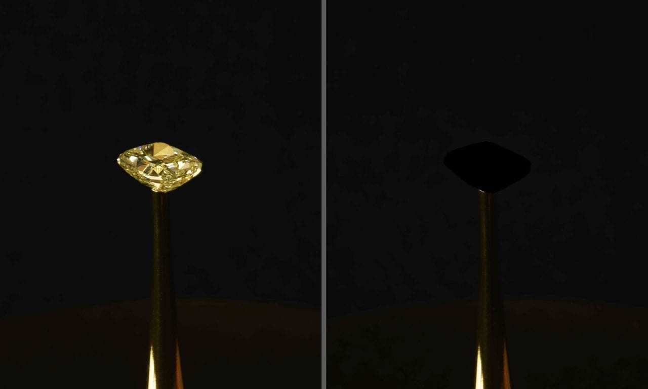 "MIT Researchers Have Discovered the ""Blackest Black"" and Tested It On a Diamond"