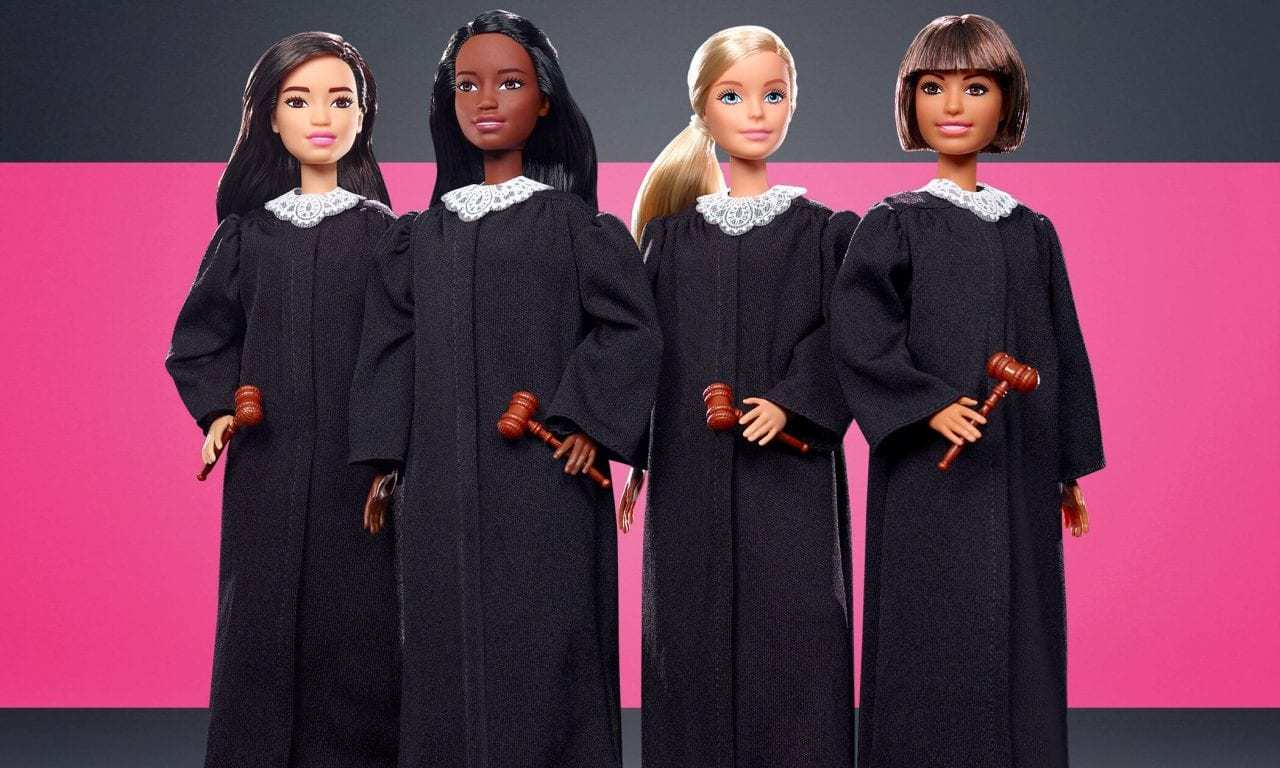 Mattel Introduces 'Judge Barbie' to the Bench