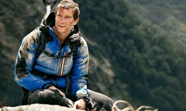 Bear Grylls onto his next adventure in production