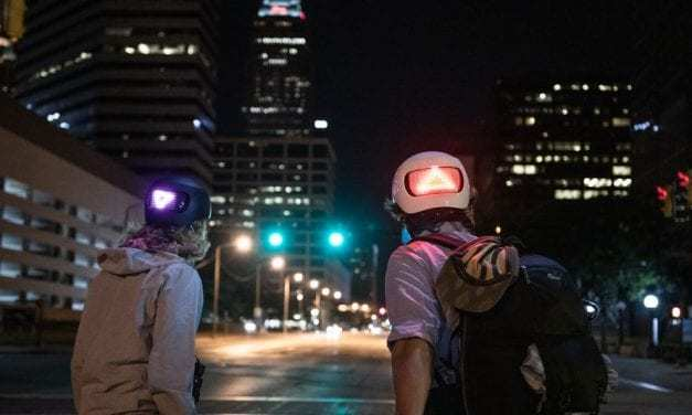 Apple Made An LED Smart Bike Helmet With Turn Signals