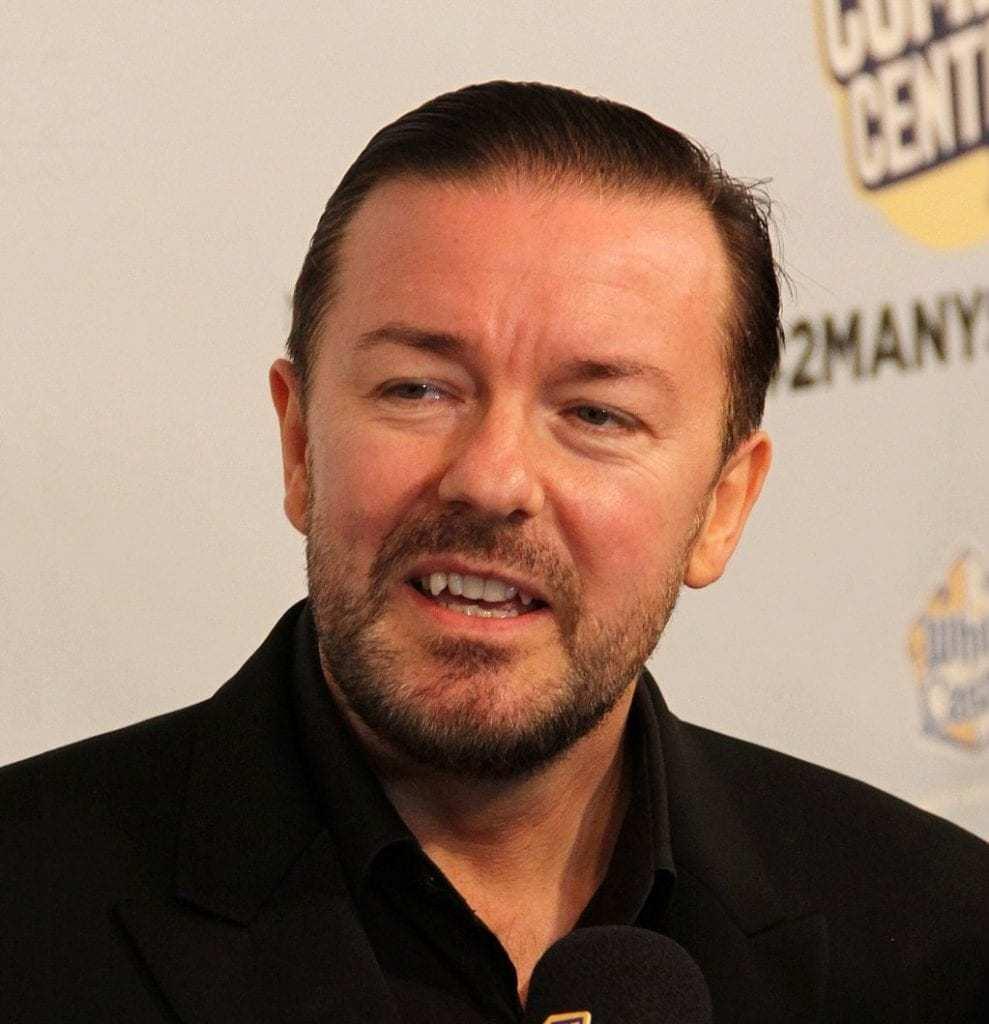 Ricky Gervais Hosting Golden Globes