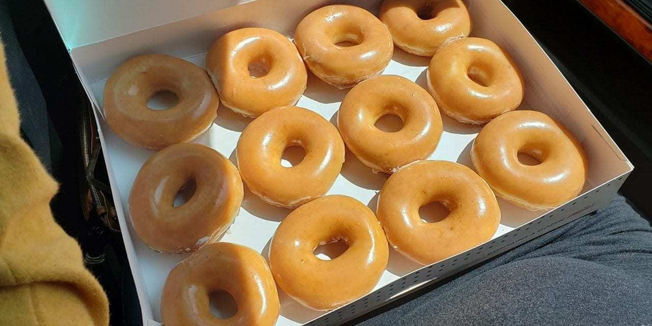 This Minnesota College Student Isn't The Hero Krispy Kreme Deserves, But the Hero It Needs