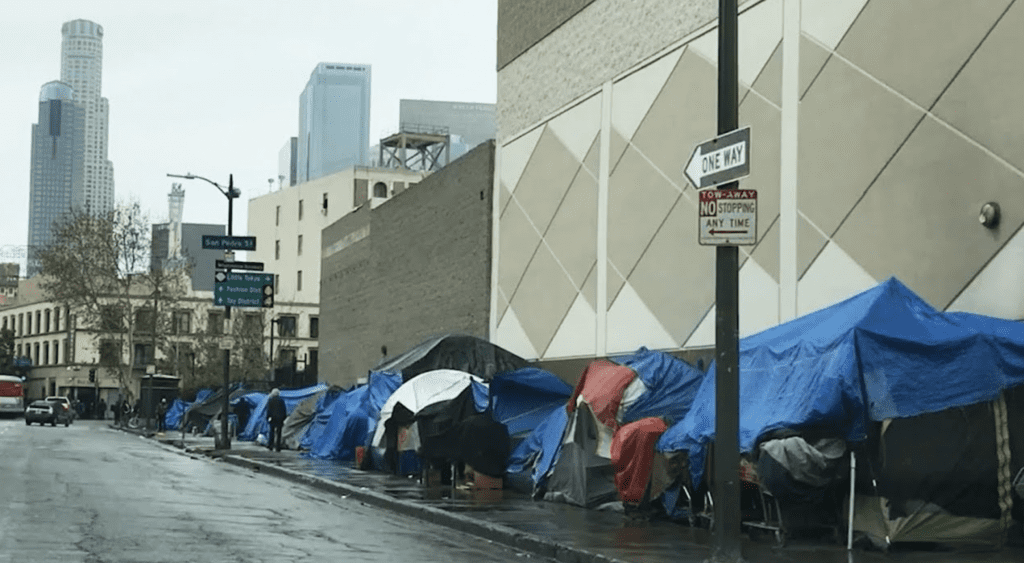 Homeless Credit to californiaglobe.com