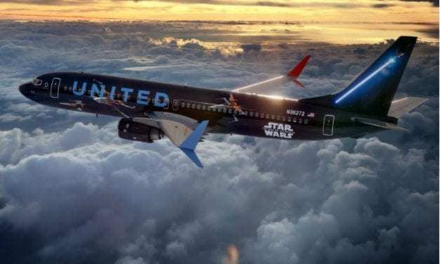 United Airlines Joins the Force with New Star Wars-Themed Plane and It's Out of This Galaxy!