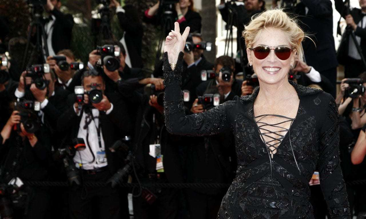 Sharon Stone Is On Bumble and Twitter Users Kind of Have a Bad Attitude About It