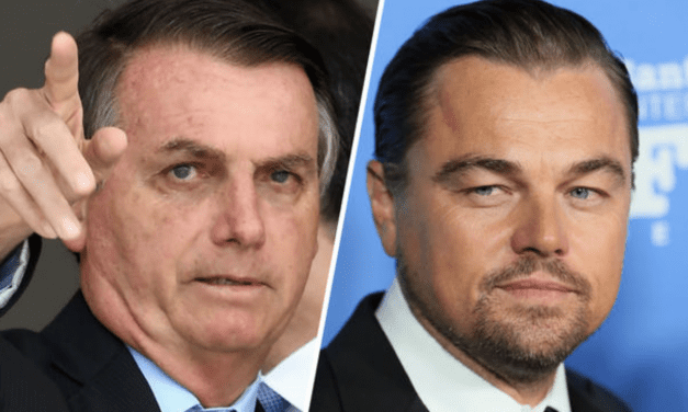 """Brazil's President Claims """"Cool Guy"""" Leonardo DiCaprio Funded the Amazon Fire"""