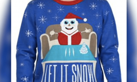 Walmart Apologizes for 'Let it Snow' Cocaine-using Santa Sweater