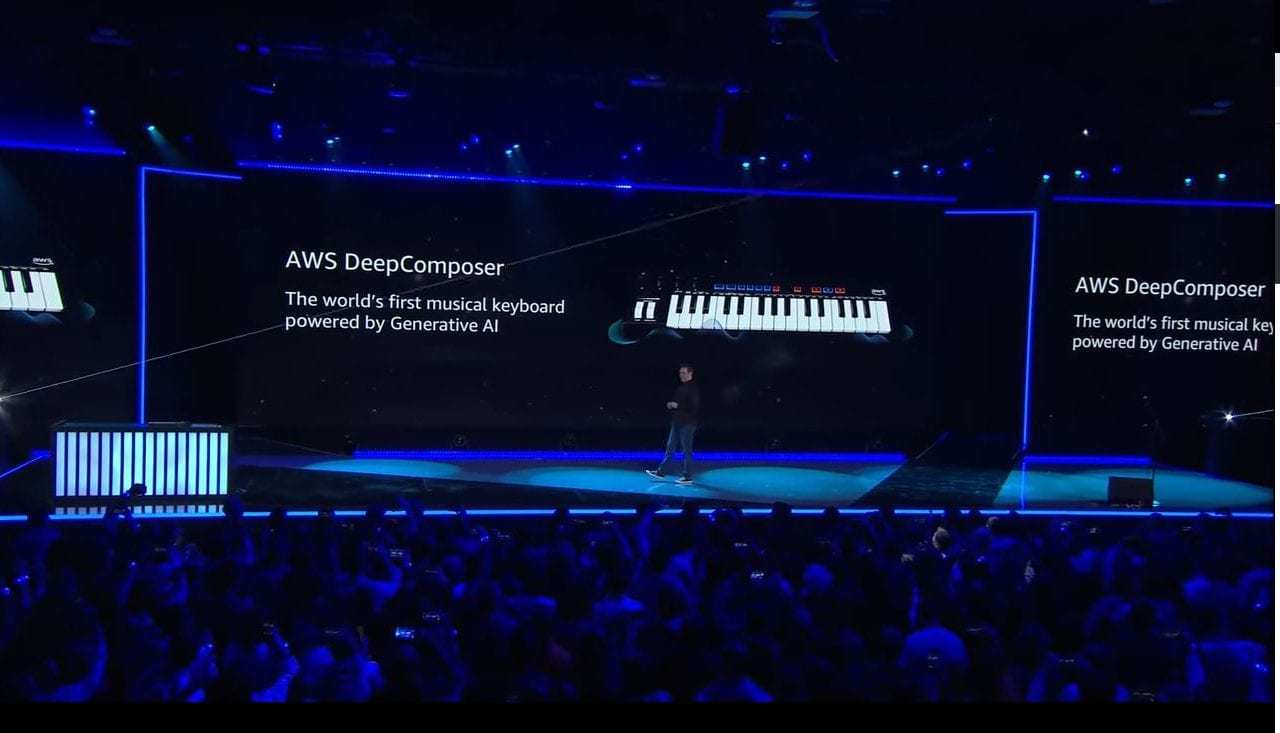 Amazon Announces 'DeepComposer,' the World's First Machine-Learning USB Musical Keyboard for Developers of All Skill Levels