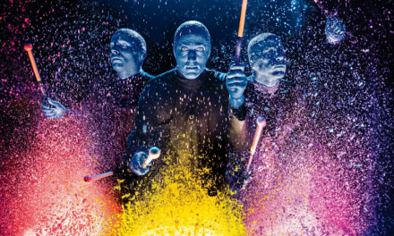 Blue Man Group Celebrates 20th Anniversary in Las Vegas and Is Still Coloring the World 'Blue'