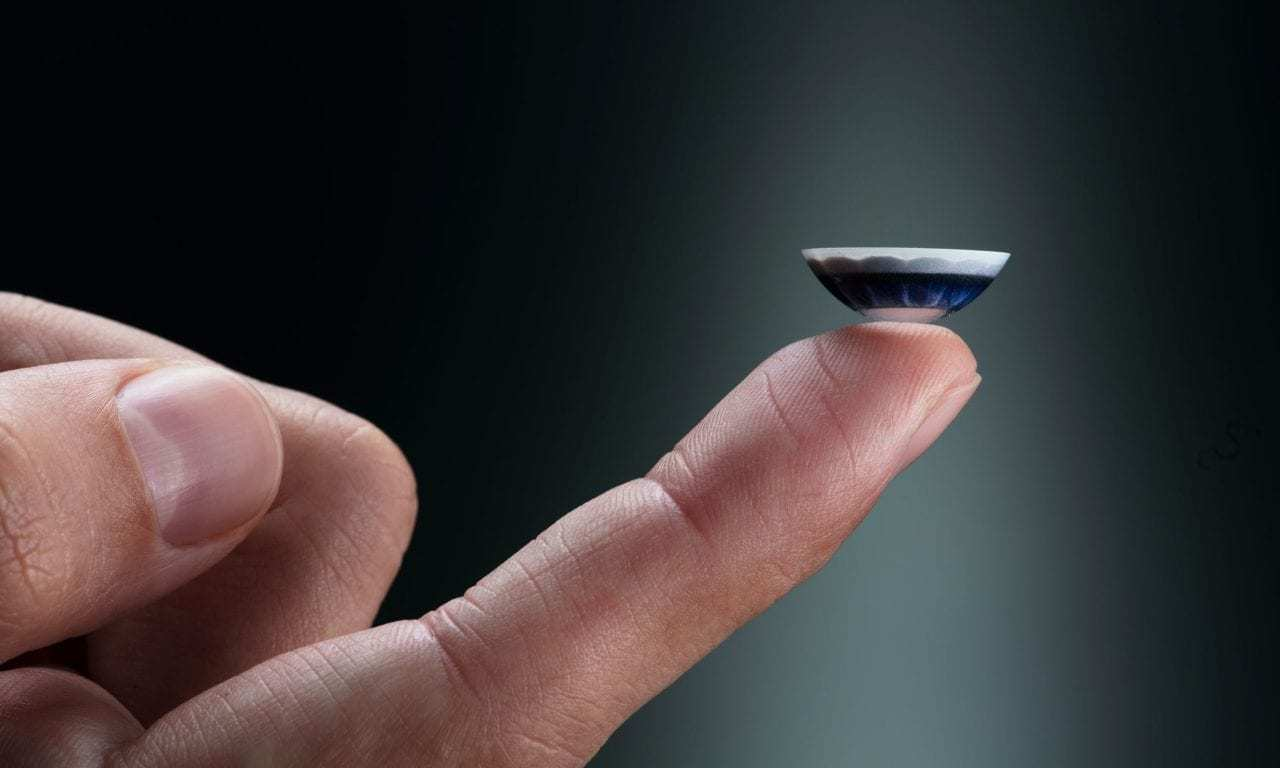 The Future of VR Looks to Rid Us of Headsets and Bring Us These 'Black Mirror' Contact Lenses