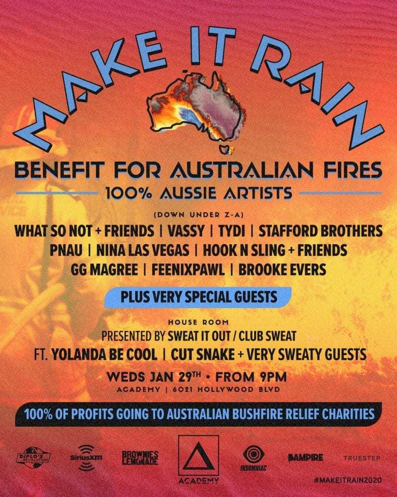 Charity Rave Make It Rain