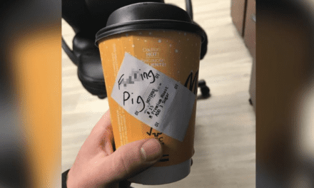 """Kansas Police Officer Resigns for Fabricating """"F***ing Pig"""" on McDonald's Cup"""