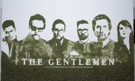 The First Weed Poster Ever Created for 'The Gentlemen'