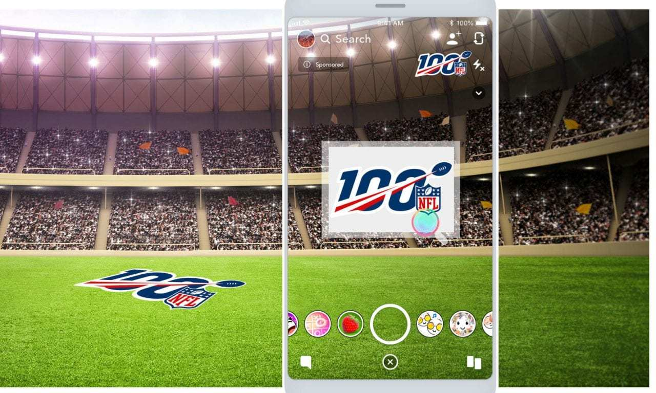 The NFL Reaches 300 Million+ AR Lens Engagements