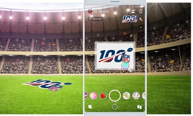 The NFL Reaches 300 Million+ AR Lens Engagements