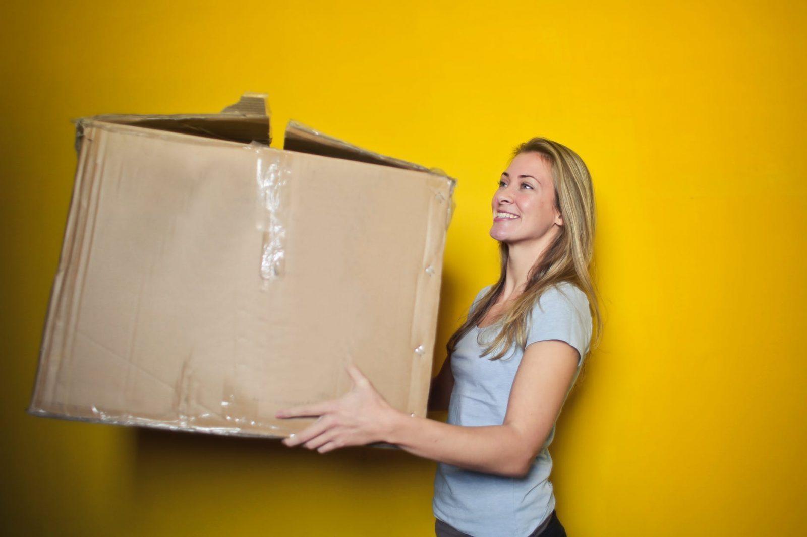 reuse amazon boxes