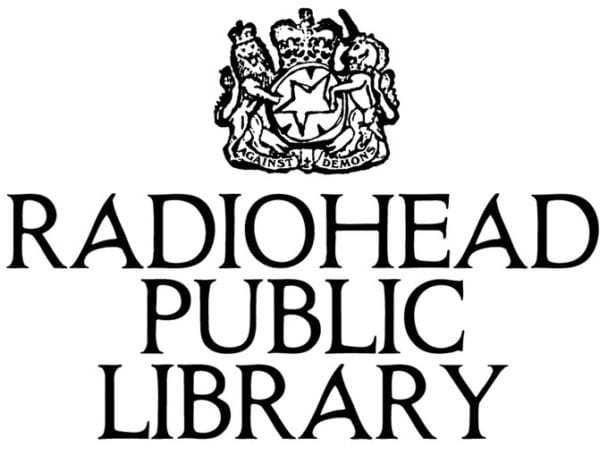 Radiohead Launches Online Public Library
