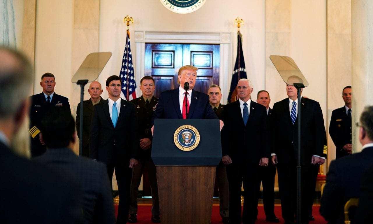 Iran Attacks US Military Bases, Trump Addresses The Nation