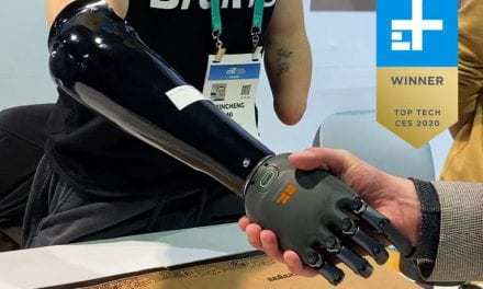 A Thought-Controlled Prosthetic Arm? Digital Trends Calls It the 'Best of CES'