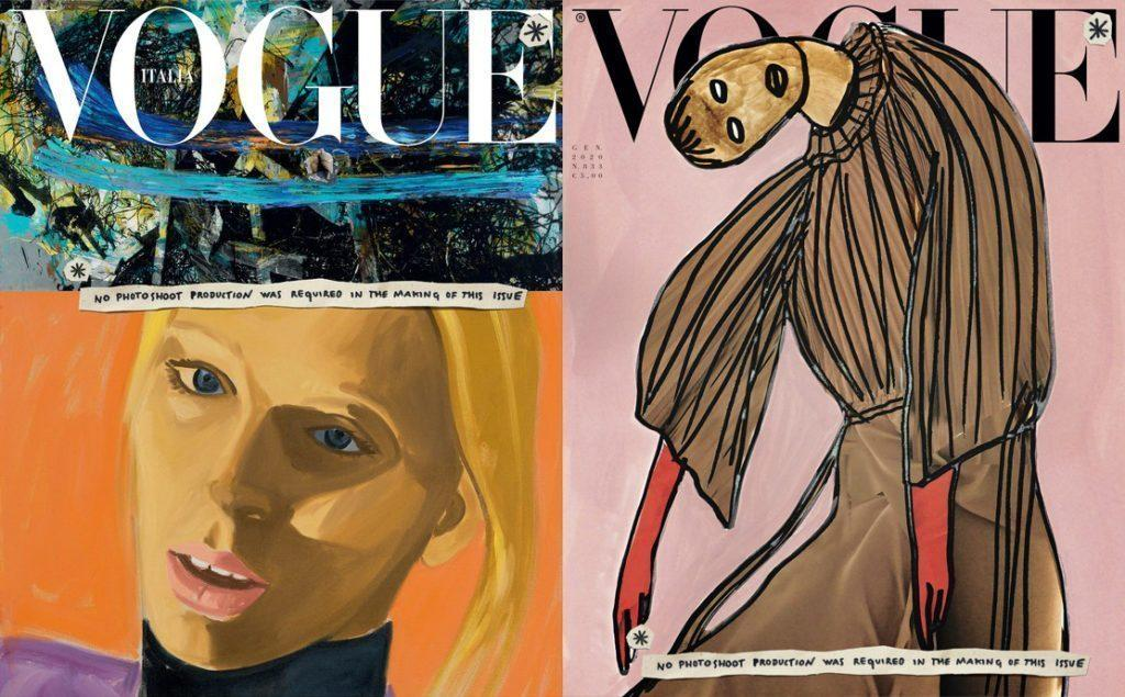 Vogue Italia Will Not Publish Any Photos This Month