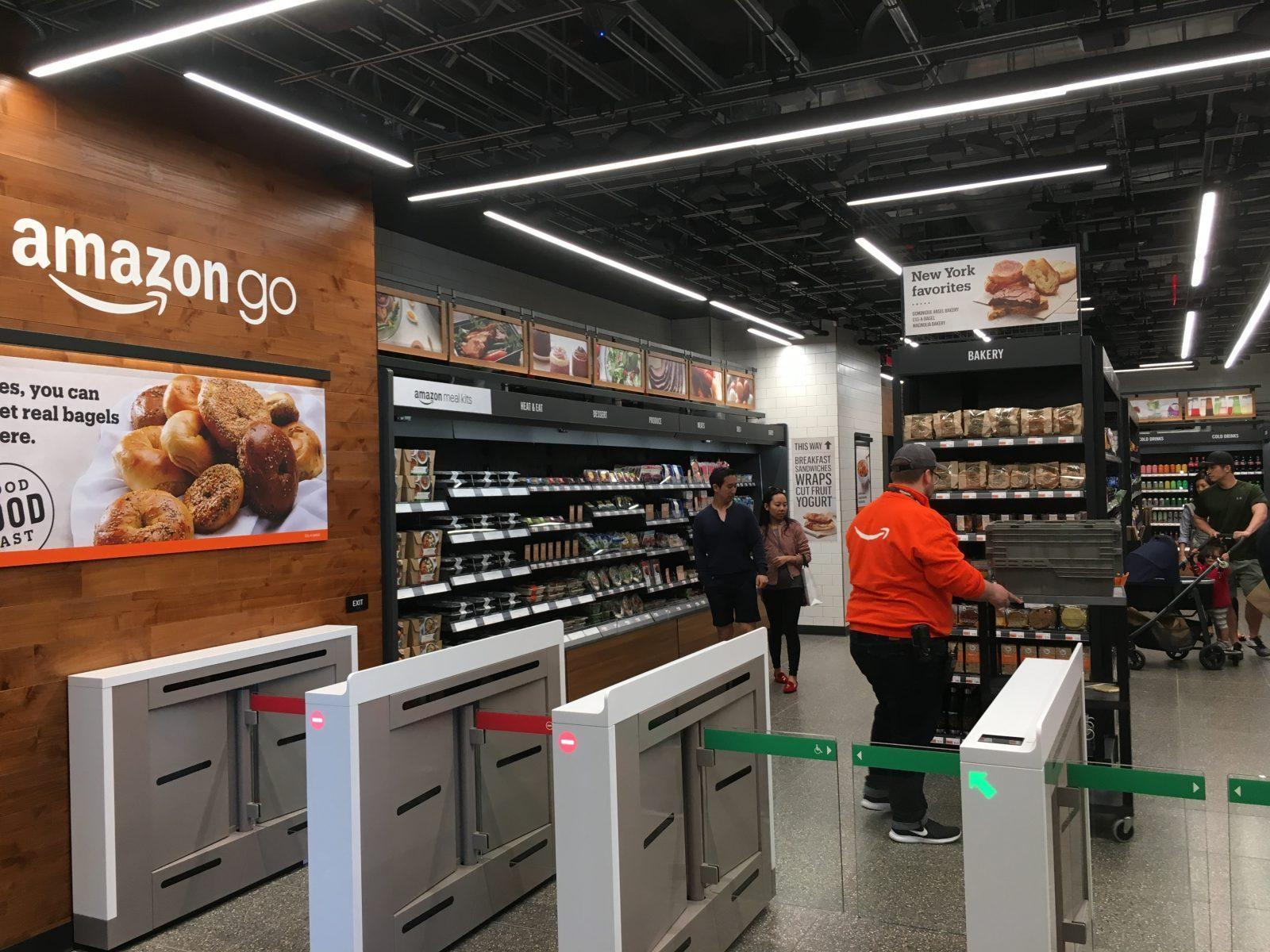 Amazon Cashierless Supermarket