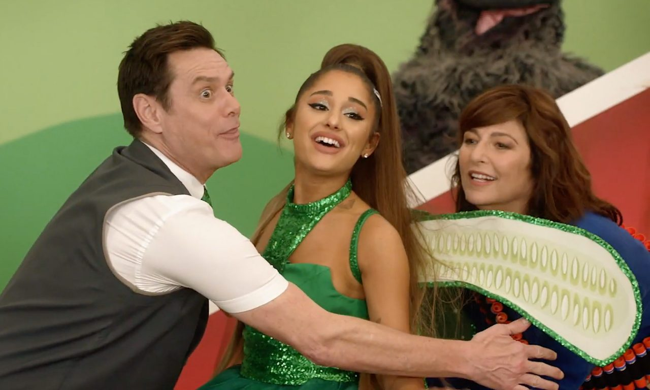 Watch Ariana Grande and Jim Carrey Duet on 'Kidding'