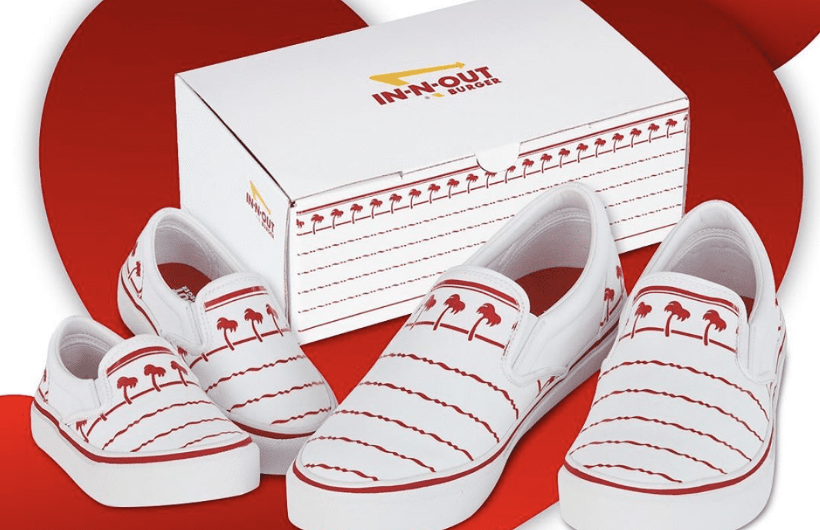 """In-N-Out Burger's """"Drink Cup"""" Shoes Sellout, But is it Part of their Branding Strategy?"""