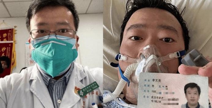Whistleblower doc reprimanded for spreading 'false' info dies of coronavirus
