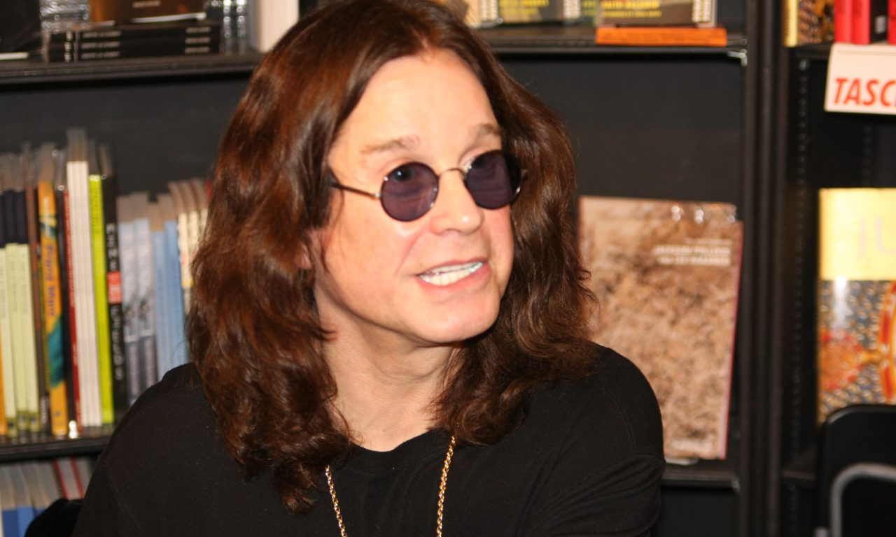 Ozzy Osbourne left his misery while making his new album