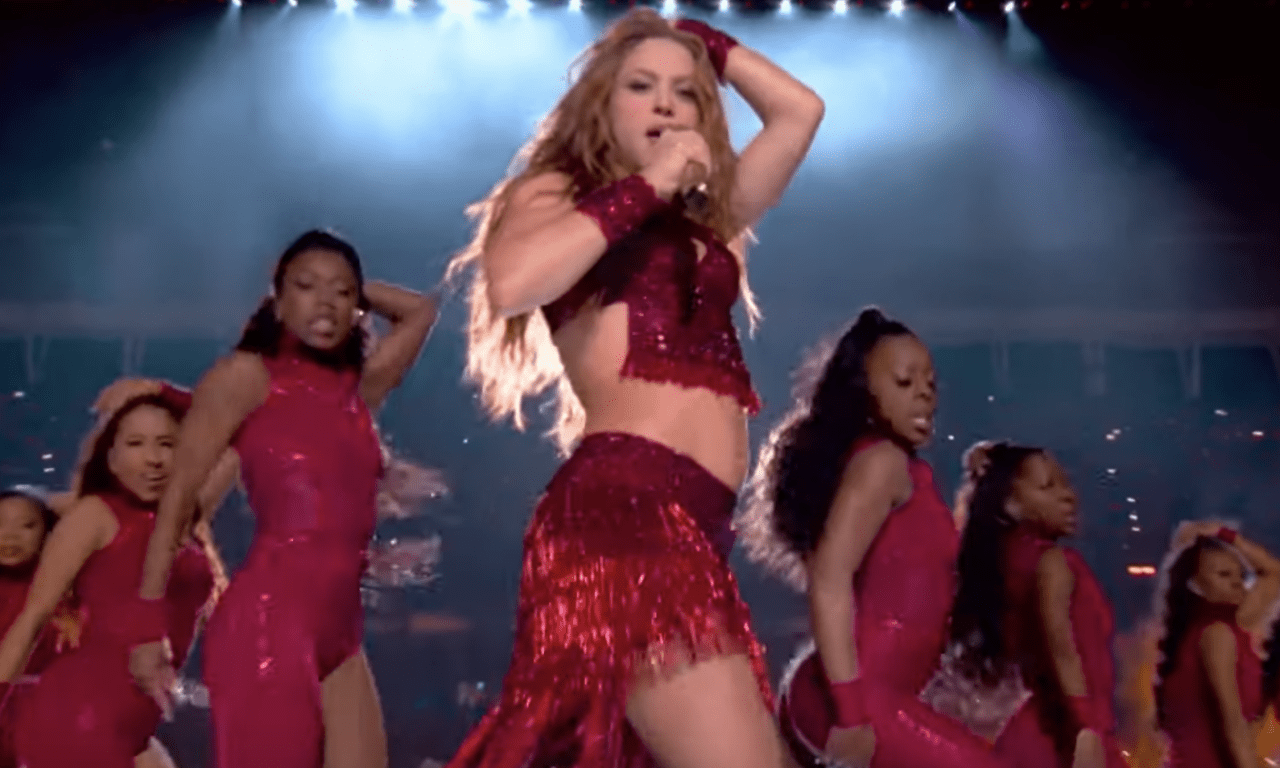 Shakira's Super Bowl Halftime Performance Sets Internet Tongues Wagging