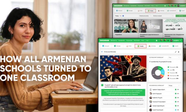 Amidst COVID-19 Armenia's Public Schools Enjoy Uninterrupted Learning