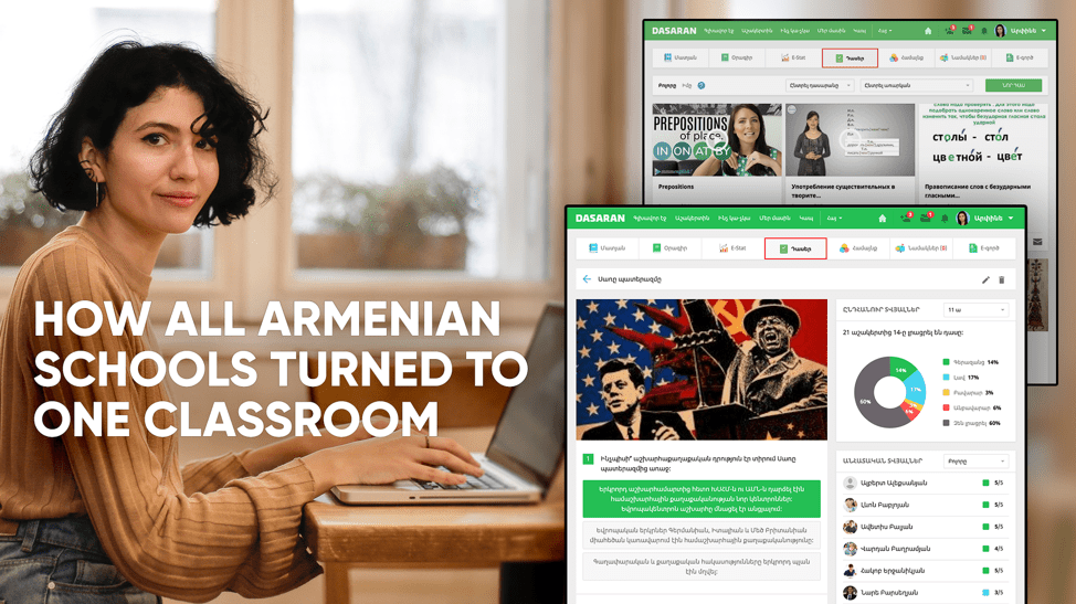 Amidst COVID-19 Armenia's Public Schools Enjoy Uninterrupted Learning