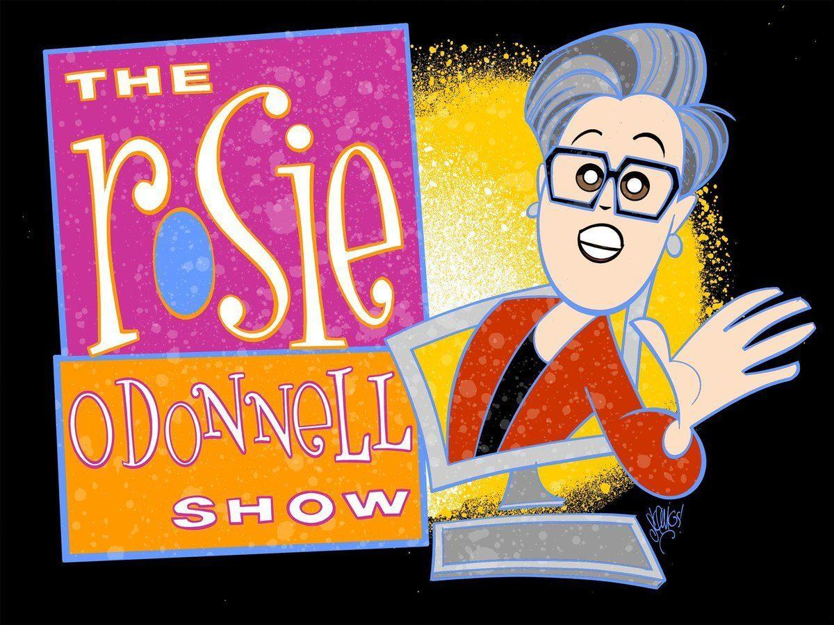 Rosie O'Donnell Show New Logo