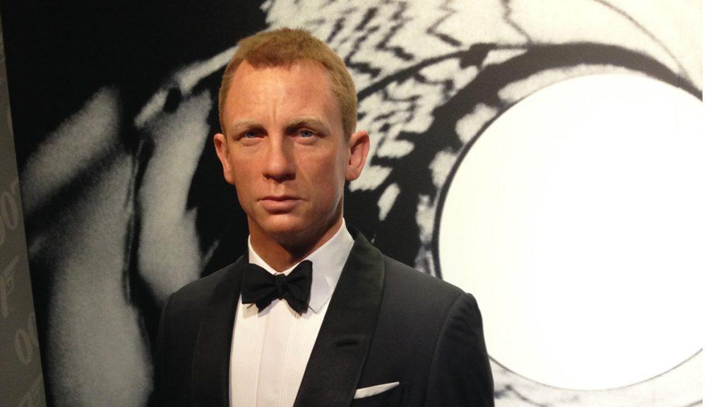 James Bond film halted