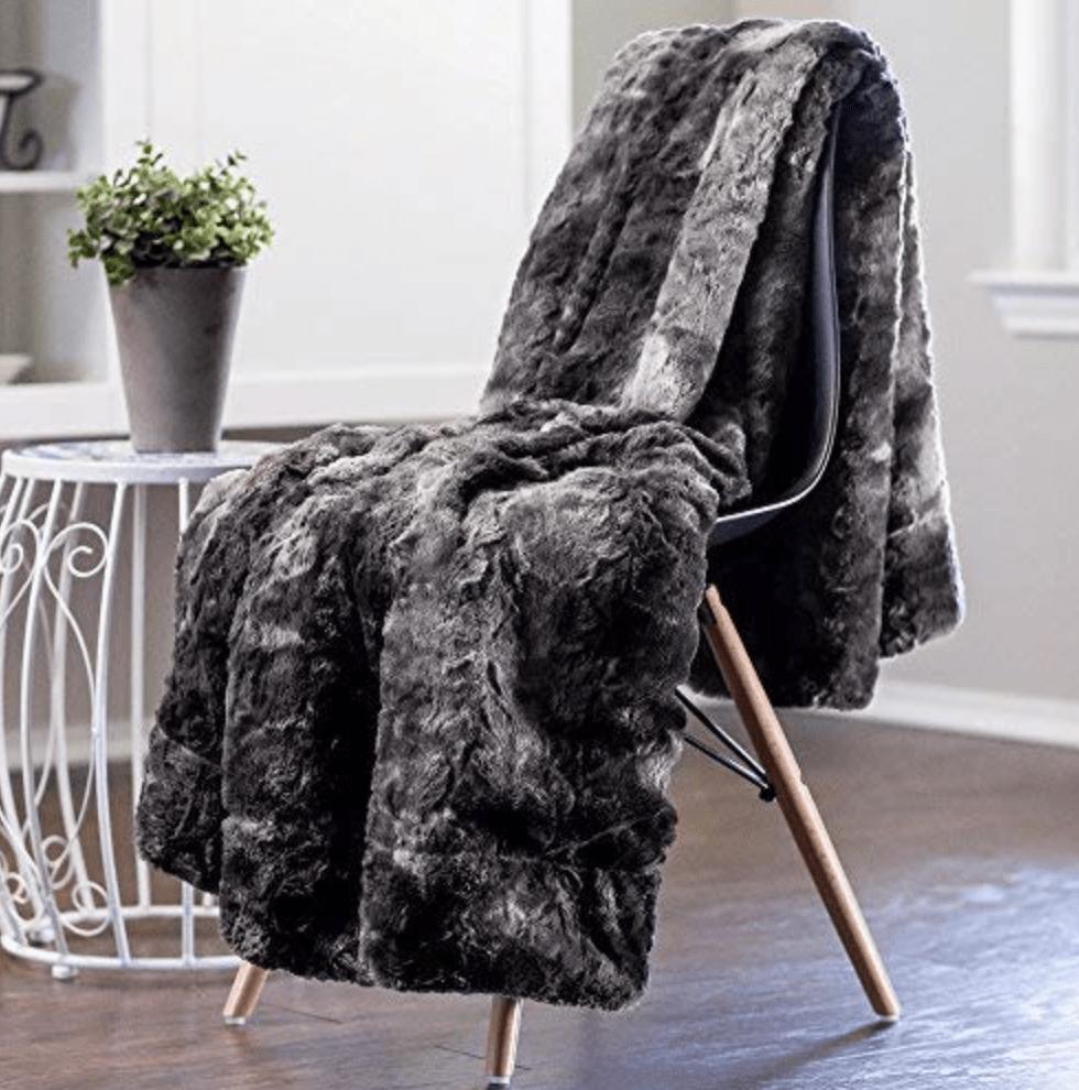 A fuzzy blanket to stay cozy under
