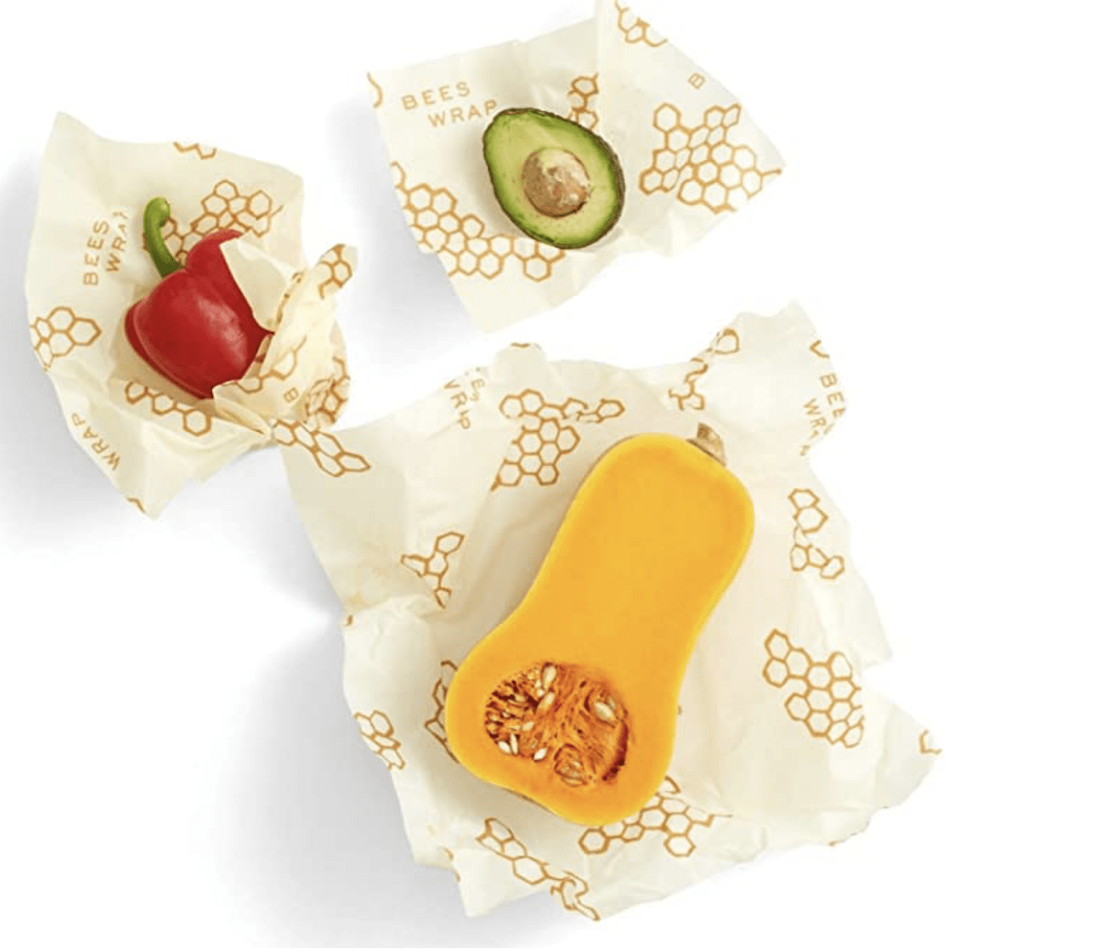 This all natural beeswax food storage wrap that will help you cut back on waste.