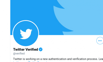 Amid Coronavirus Outbreak, Twitter Finds New Use For Blue Check Verification