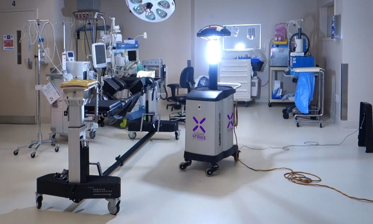 Hospital-Disinfecting Robots: Xenex Sees Surge In Orders As COVID-19 Pandemic Escalates