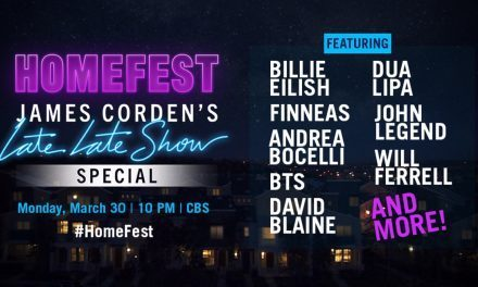 Kick Back with James Corden During 'Homefest'